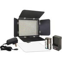 Vidpro LED-330X Variable-Color On-Camera LED Video Light Kit
