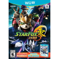 Star Fox Zero+Star Fox Guard for Wii U + Fox amiibo