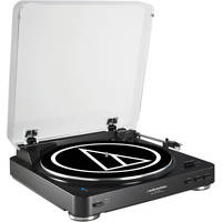 Audio-Technica AT-LP60BK-BT Turntable with Bluetooth (Black) + $50 Dell eGift Card