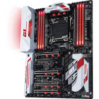 Gigabyte LGA 2011-v3 GA-X99-Ultra Gaming ATX Intel Motherboard + G.Skill Aegis 8GB 288-Pin DDR4 Desktop Memory