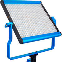Dracast LED500 Silver Series Bi-Color LED Light with Dual NP-F Battery Plate + Dracast Barndoors