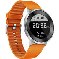 Huawei Fit Orange Small Sport Watch (55021522) (Moonlight Silver/Orange)