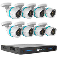 Deals on EZVIZ BN-1G28A3 16-Channel 1080p NVR w/3TB HDD Bullet Cameras
