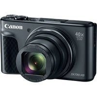 Canon PowerShot SX730 HS 20.3MP Full HD 1080p Wi-Fi Digital Camera with 40x Optical Zoom - Refurbished + Photo Printer + Paper Set + 16GB Card