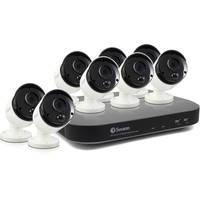Swann 8-Channel 3MP DVR w/2TB HDD + 8 3MP Bullet Cameras Deals