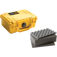 Pelican 1120 Case with Foam (Yellow)
