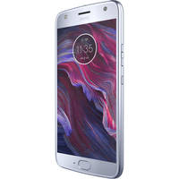"Motorola Moto X4 5.2"" 32GB 4G LTE Unlocked GSM & CDMA Android Smartphone with hands-free Amazon Alexa (Blue)"