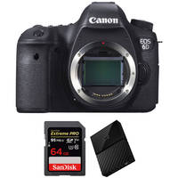 Canon EOS 6D 20.2MP DSLR Camera Body Bundle