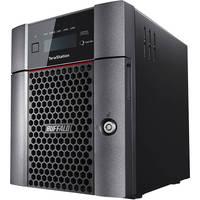 Buffalo TeraStation 5410DN 4-Bay 8TB RAID 0 Desktop Network Attached Storage for Windows/Mac with Quad Core