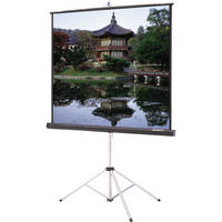 "Da-Lite 40114 Picture King Tripod Front Projection Screen (50x50"")"
