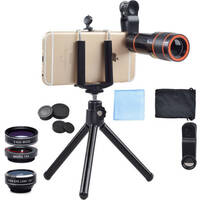 Apexel 4-in-1 Cell Phone Camera System