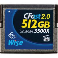 Atomos Wise Advanced 512GB CompactFlash Memory Card
