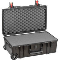 Deals on Explorer Cases Medium Hard IATA Case 5221 with Foam & Wheels