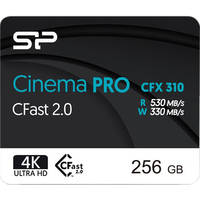 Deals on Silicon Power 256GB Cinema PRO CFX 310 CFast 2.0 Memory Card