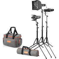 Deals on Godox S30 D Focusing LED 3 Light Kit
