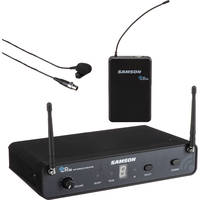 Deals on Samson Concert 88 Lavalier UHF Microphone Presentation System