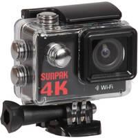 Sunpak 4K Action Camera with 9-Piece Accessory Kit