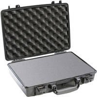 Pelican 1470 Computer Case with Foam (Black)