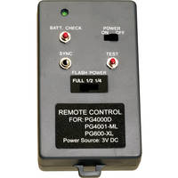Medalight Remote Control for PG4001 & Performax