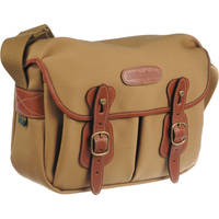 Billingham Hadley Shoulder Bag Small (Khaki, with Tan Leather Trim)