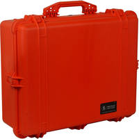 Pelican 1600 Case without Foam (Orange)