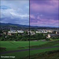 """LEE Filters 4x6"""" Graduated Twilight Resin Filter - Hard Edge"""