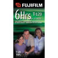 Fujifilm HQ T-120 VHS Video Cassette