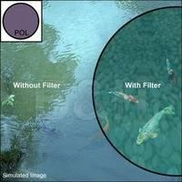 Konica Minolta 55mm Circular Polarizer Glass Filter