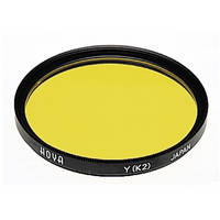 Hoya 52mm Yellow #K2 (HMC) Multi-Coated Glass Filter for Black & White Film