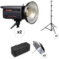 Photogenic Two 2500DR-UV Powerlight Kit (120V)