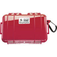 Pelican 1040 Micro Case (Solid Red with Black Lining)