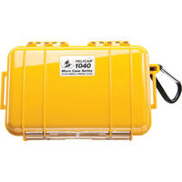 Pelican 1040 Micro Case (Solid Yellow with Black Lining)