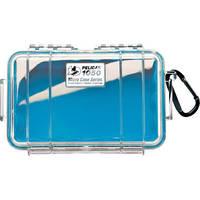 Pelican 1050 Clear Micro Case (Blue)