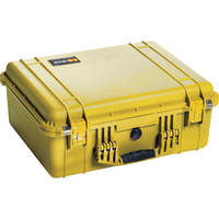 Pelican 1550NF Case without Foam (Yellow)