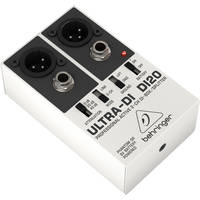 Behringer ULTRA-DI DI20 - Active 2-Channel DI Box/Splitter