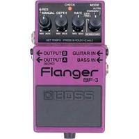 BOSS BF-3 Stereo Flanger - Effects Pedal for Guitar and Bass