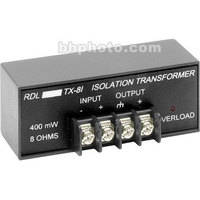 RDL TX-8i Headphone Isolation Transformer