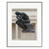 "Nielsen & Bainbridge Photography Collection Frame - 11 x 14"" Mat w/ 8 x 10"" Opening, Black"