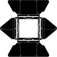 Lowel Complete 4-Leaf Barndoor Set for DP Light