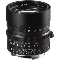 Leica 50mm f/1.4 Summilux M Aspherical Manual Focus Lens (6-Bit)