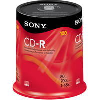 Sony CD-R Data Disc (100)