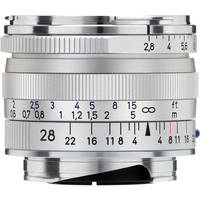 Zeiss 28mm f/2.8 ZM Lens - Silver