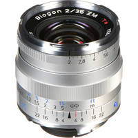 Zeiss 35mm f/2 ZM Lens - Silver