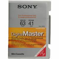 Sony DigitalMaster Mini (63 min HDV, 41 min DVCAM)