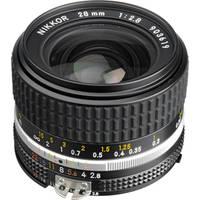 Nikon NIKKOR 28mm f/2.8 AIS Manual Focus Lens