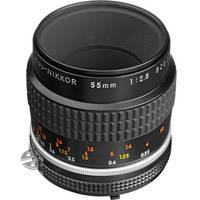 Nikon Macro 55mm f/2.8 Micro AIS Manual Focus Lens