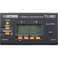 Boss TU-80 -  Tuner/Metronome (Black)