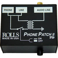 Rolls PI9 Phone Patch II Telephone Output Adapter