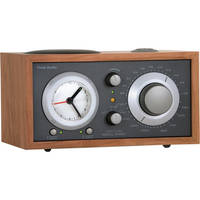 Tivoli Model Three AM/FM Clock Radio (Metallic Taupe/Cherry)