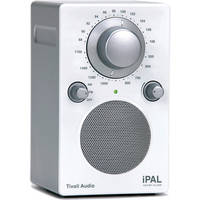 Tivoli iPAL Portable Audio Laboratory - Silver/White